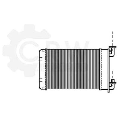 Heat exchanger Interior heating BMW 3 Series Cabriolet Touring E30
