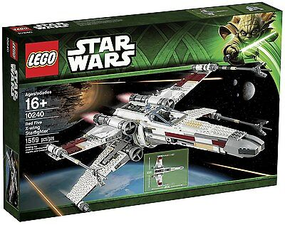 Lego Star Wars 10240 - Red Five X-Wing Starfighter - Hard To Find - Brand New