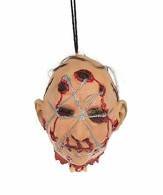 Head/Barbed Wire Hanging Prop,Halloween Party Accessory Prop/Room Decoration #CA