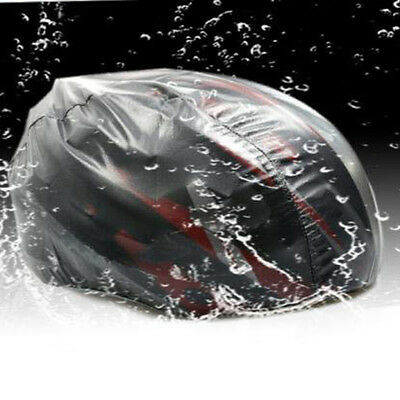 Windproof Dust-proof Waterproof Cover MTB Road Bike Helmet Bicycle Cycling