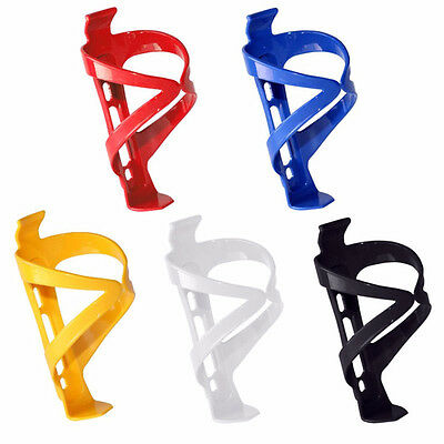 2 x Plastic Water Bottle Cage HOLDER BRACKET For Cycling Bicycle Bike Drink