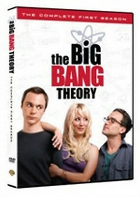 The Big Bang Theory - Stagione 1 (3 DVD) - ITALIANO ORIGINALE SIGILLATO -