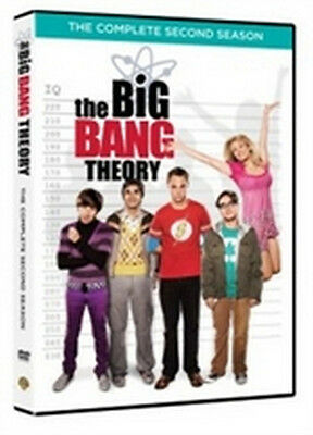 The Big Bang Theory - Stagione 2 (4 DVD) - ITALIANO ORIGINALE SIGILLATO -