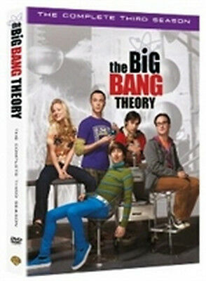 The Big Bang Theory - Stagione 3 (3 DVD) - ITALIANO ORIGINALE SIGILLATO -