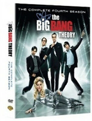 The Big Bang Theory - Stagione 4 (3 DVD) - ITALIANO ORIGINALE SIGILLATO -