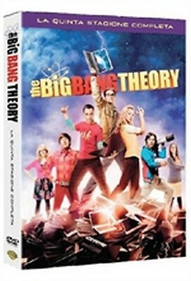 The Big Bang Theory - Stagione 5 (3 DVD) - ITALIANO ORIGINALE SIGILLATO -