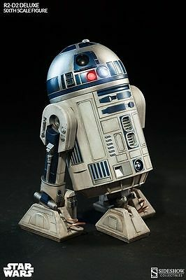Star Wars R2-D2 Deluxe Figure by Sideshow Collectiibes SS2172 UK SELLER GENUINE