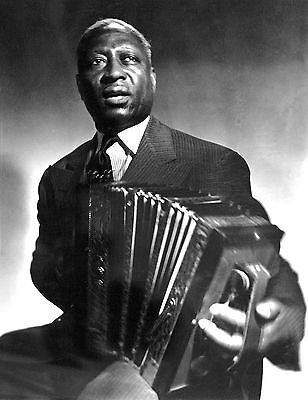Leadbelly Blues And Folk Singer Glossy Promo Photo Music Print Poster A4