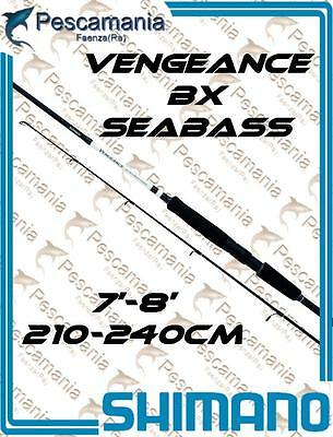 Canna spinning Shimano Vengeance BX-Spinning Sea bass