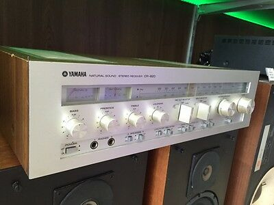 YAMAHA CR 820 Stereo Receiver Natural Sound *****