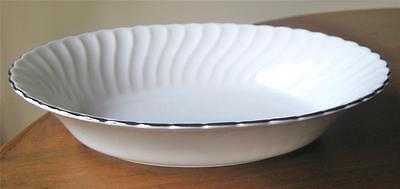 """Syracuse WEDDING RING Oval Vegetable Bowl 10"""" Great Condition"""