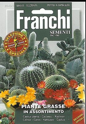 Franchi Seeds Cactus Piante Grasse Mixed seeds