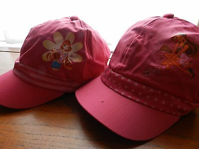 childs soft peak pink cap 2 designs