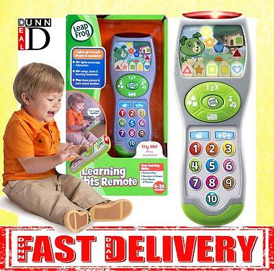LeapFrog Baby My Pal Scout First TV Toy Remote Control Musical Light Up Toys
