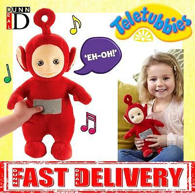 Teletubbies Talking Po Soft Toy Red CBeebies Soft Musical Toys Doll Teddy Plush
