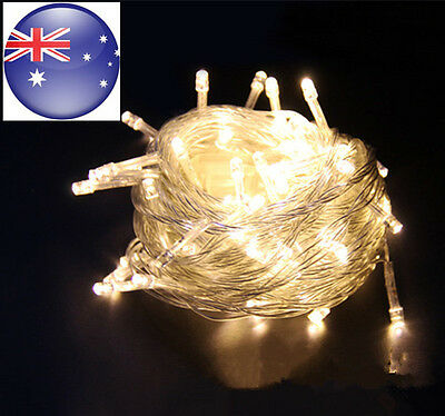 Warm White 50M 500LED Fairy String Lights Christmas Tree Party Wedding Xmas