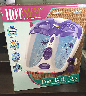 HOT SPA 61355 Foot Bath Plus with Acupressure Massage Center - NEW IN BOX!