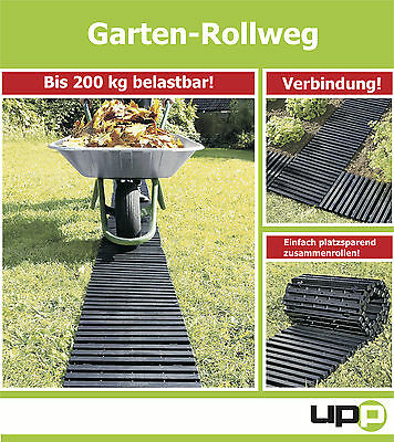 UPP 2 Piece at 30x150cm Garden plate / Taxiway / Bed plates/ Garden path/ Lawn