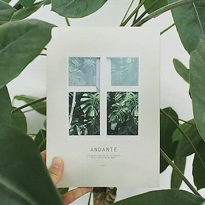 [Andante Diary Undated] Daily Weekly Yearly Scheduler Journal Calendar Planner