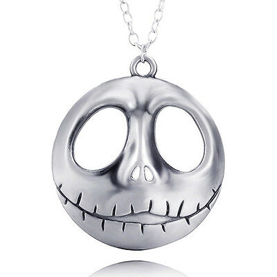 The Nightmare Before Christmas Prince Jack Face Necklace Personality Desgin