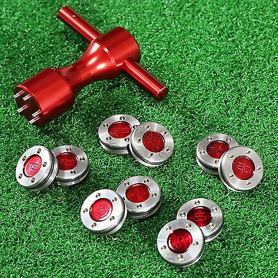 Red Golf Putter Weights & Wrench Tool for Titleist Scotty Cameron 5/10/15/20/25g