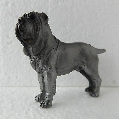 Neapolitan Mastiff Mini Model Ornament Handpainted Handcrafted Sculpture