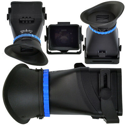 5D3 5D2 SLR flip LCD screen 3 magnification viewfinder goggles for Canon Nikon