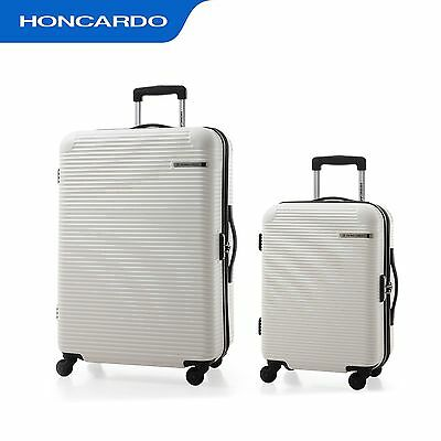 2pc ABS Expandable Carry on  Spinner  Luggage Set  Travel Business Suitcase