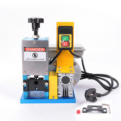 WOO 220V Portable Powered Electric Wire Stripping Machine Scrap Cable Stripper