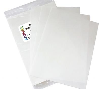 Edible Wafer / Rice Paper For Cake Toppers 25 Sheets A4