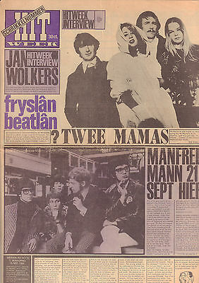 HITWEEK 1966 nr. 53 - MAMA'S & THE PAPA'S/MANFRED MANN/JAN WOLKERS/GROUP 1850