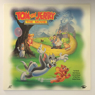 Laserdisc Tom and Jerry - The Movie