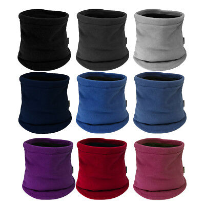 Childrens Kids Fleece Winter Neck Warmer Snood