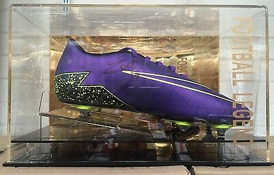 Anthony Martial Signed Football Boot Manchester United France Display COA