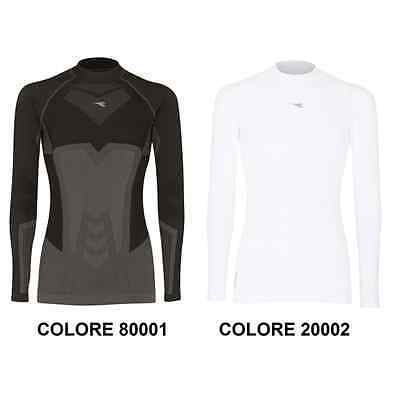 Maglia Intima Termica Diadora Hidden Power Ls Turtle Neck Act