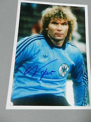 NORBERT NIGBUR DFB  WELTMEISTER 1974  In-Person signed Foto 20x28 Autogramm