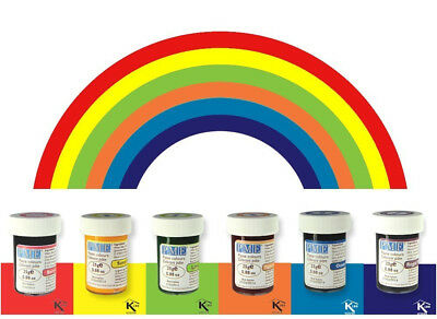 PME Icing Colour Gel Paste Cupcake Decorating Rainbow Cake Colours Set Kit