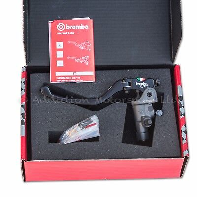 16RCS BREMBO Radial Clutch Master Cylinder, Folding Lever, 16mm 18 & 20 Ratio