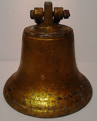 Vintage Marine Brass BELL - Great Sounding - Nautical - Ship's Original (G)