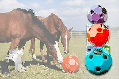 Horse Hay Dome/Hay Play  Slow Hay Feeder/ Larger Ball for Treats & Hay