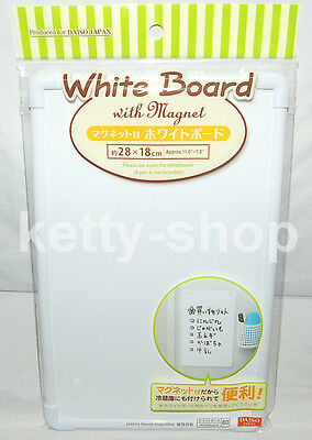 "Mini Rectangular Message Board White Board 28 x 18 cm (11.2"" x 7.2"")"