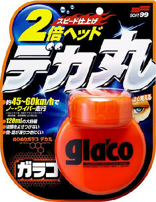 Soft99 Glaco Roll On Large Japan Liquid Rain Water Repellent, 120 ml