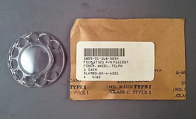 Western Electric Clear Plastic Finger Wheel - NOS - SKU - 20835