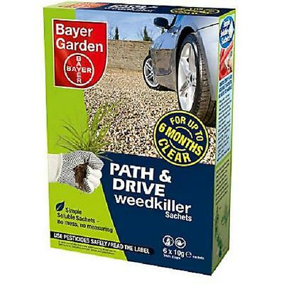 Bayer Garden Path & Drive Weedkiller Concentrate (6-Sachet) Pack
