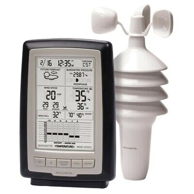 Acurite 3 in 1 Weather Center with Wind Speed 00638A3