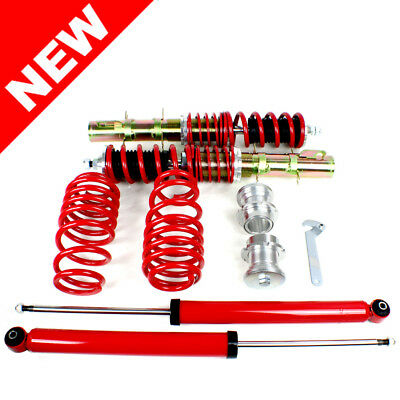 Rsk Street Coilover Kit - Vw Mk4 Golf / Gti / Jetta / New Beetle - Red