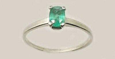 19thC Antique ½ct Colombian Emerald Gem of Ancient Greece Aristotle Plato 4thBC