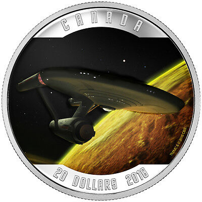 2016 $20 Fine Silver Coin Star Trek™: Enterprise