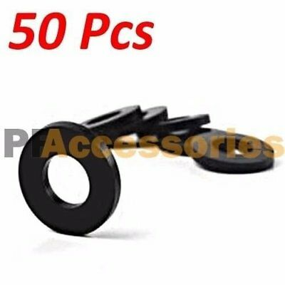"50 Pcs 3/4"" inch OD O-Ring Hose Gasket Flat Rubber Washer Lot for Faucet Grommet"