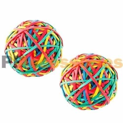 2x 240 Ct Assorted Color Rubber Band Ball 5.3 ounces for Office Home Desk NEW